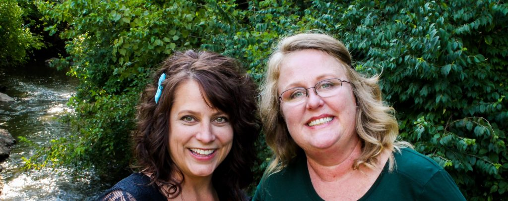 Crystal Crider and Jolie Raufeisen